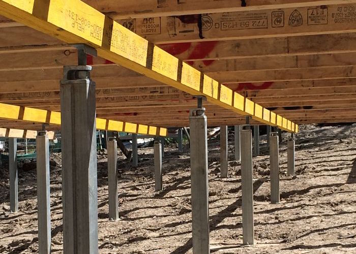 Ezipier Adjustable Steel Piers Stumps And Bracing For Any